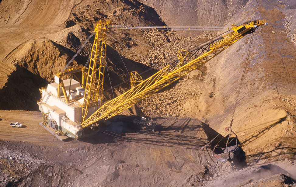 Coal Field Dragline