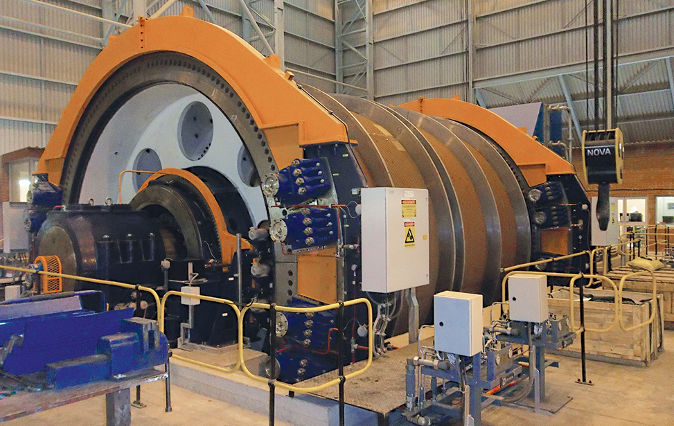 Copper Mine BMR Double-Drum Winder
