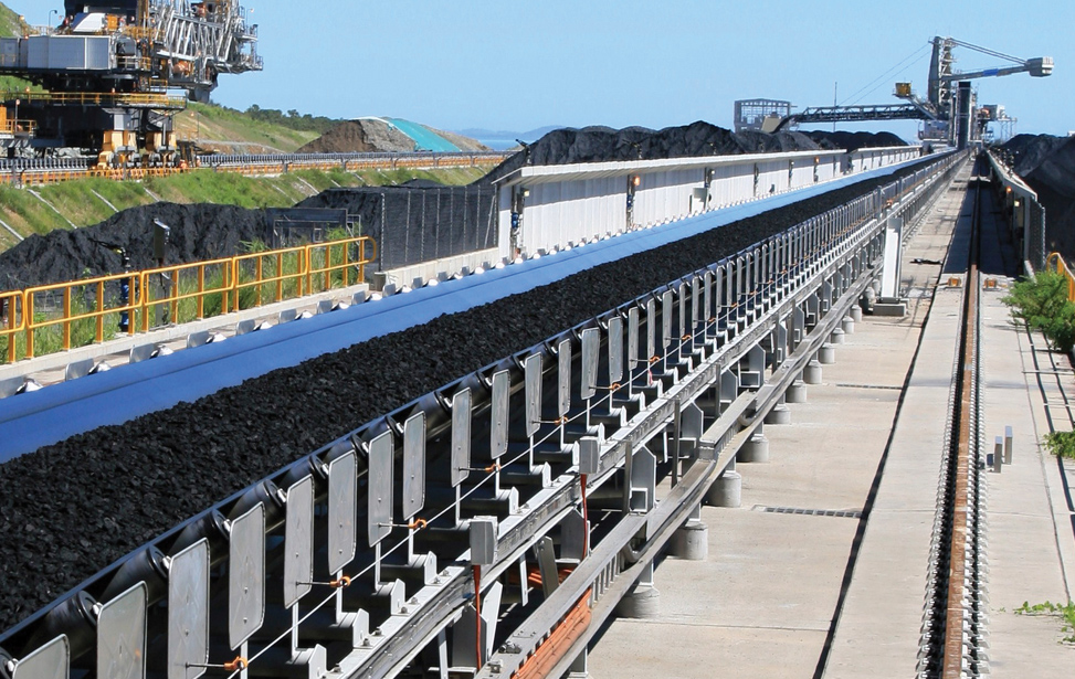Overland Coal Conveyor