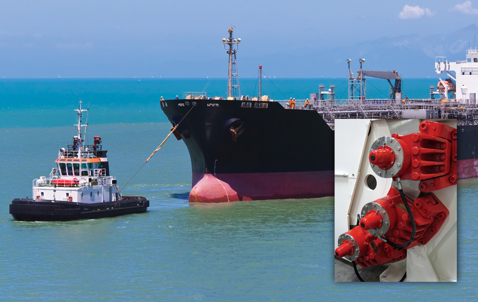 Vessel Mooring Winches and VKSD-FL Brakes