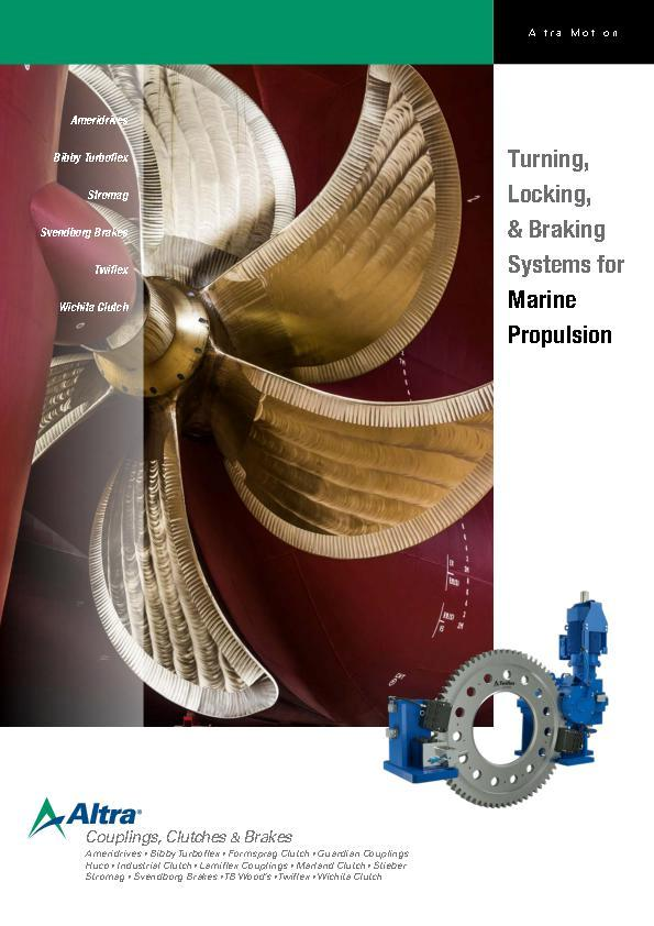 A4 - Turning, Locking, & Braking Systems for Marine Propulsion