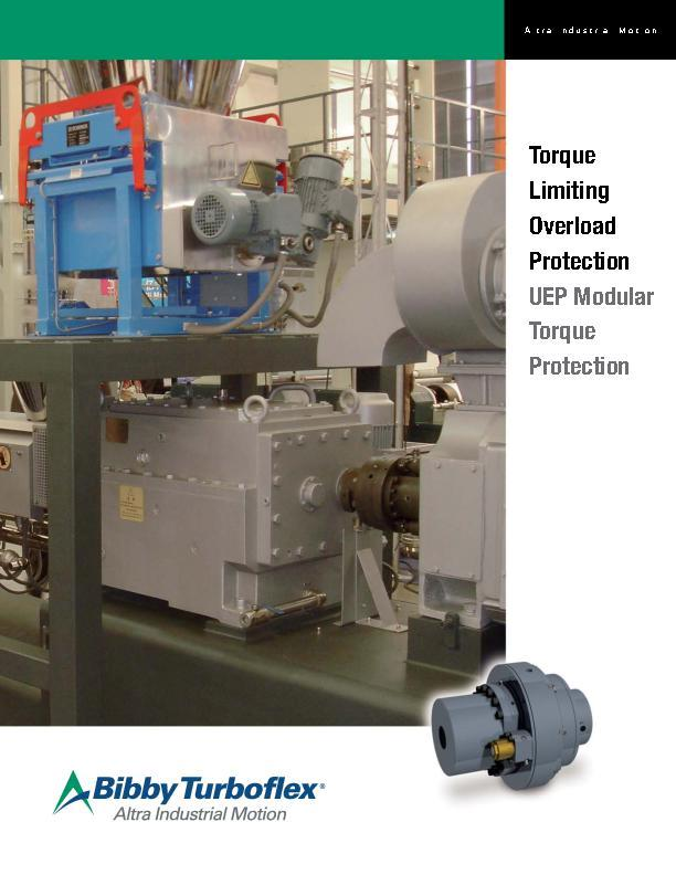 UEP Modular Torque Limiting Overload Protection